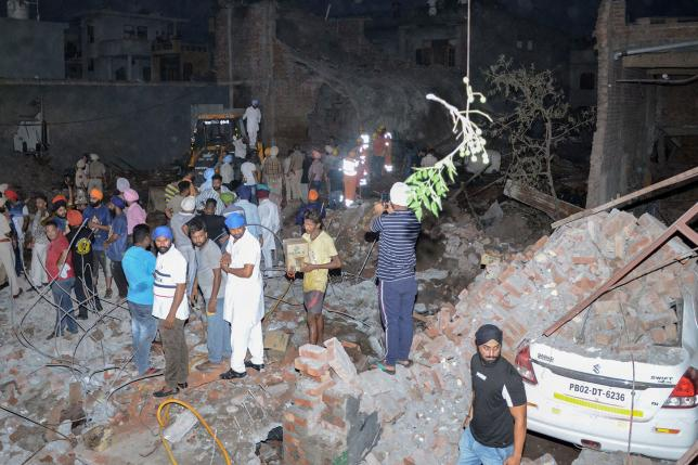 23 killed, many injured in India firecracker factory explosion