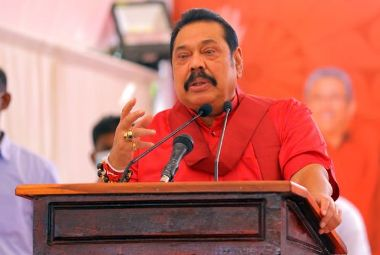 We will not allow Sampanthan to divide the country: M Rajapaksa