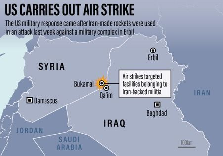US carries airstrikes in Syria