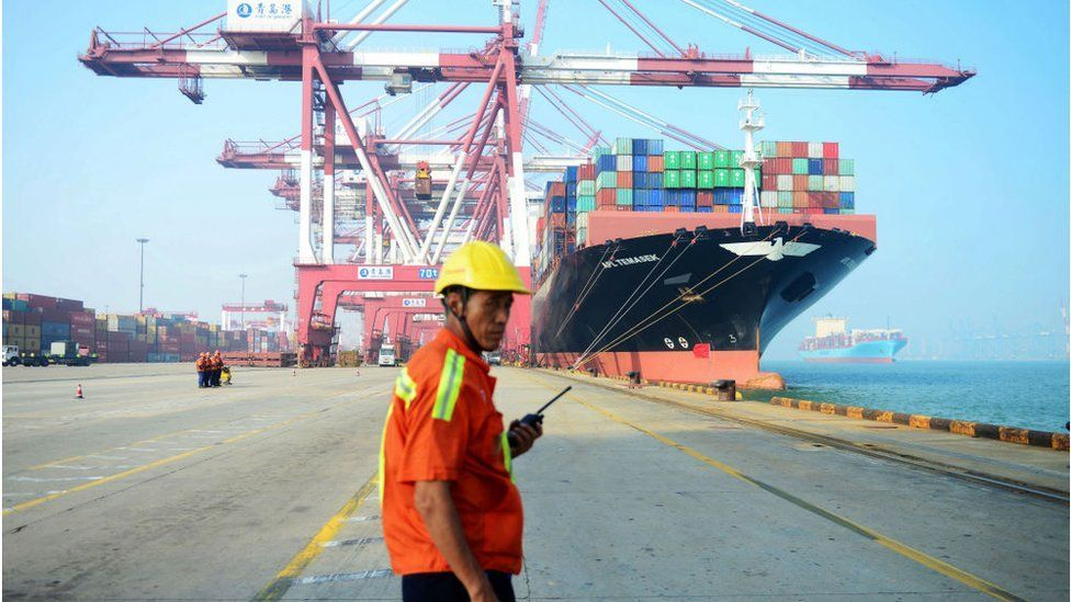 Chinas exports soar as US recovers and India stalls